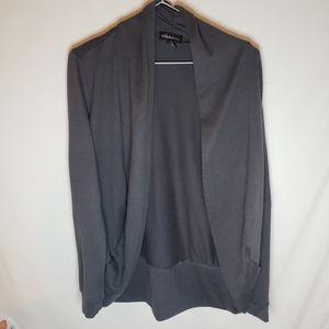 Seduction L grey coverup light sweater